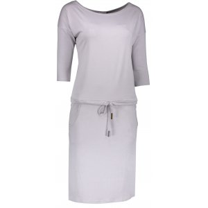 Dámské šaty NUMOCO A13-52 ŠEDÁ