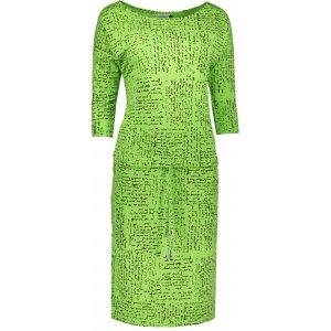 Dámské šaty NUMOCO  A13-35 SVĚTLE ZELENÁ