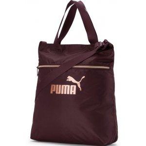 Dámská taška PUMA WMN CORE SEASONAL SHOPPER 7657402 VINEYARD WINE