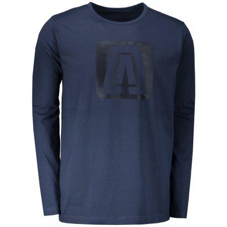 Pánské triko ALTISPORT SIGOM MTSP481 TMAVĚ MODRÁ