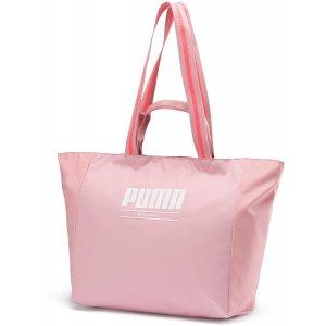 Dámská sportovní kabelka PUMA WMN CORE BASE LARGE SHOPPER 7656902 BRIDAL ROSE