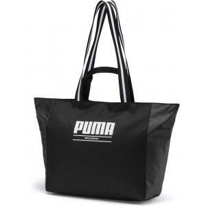 Dámská sportovní kabelka PUMA WMN CORE BASE LARGE SHOPPER 7656901 PUMA BLACK