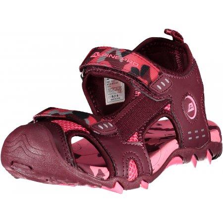 Dětské sandále ALPINE PRO DRUSSILO KBTR222 RŮŽOVÁ