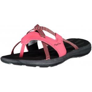 Dámské pantofle ALPINE PRO ELMA LBTR208 RŮŽOVÁ